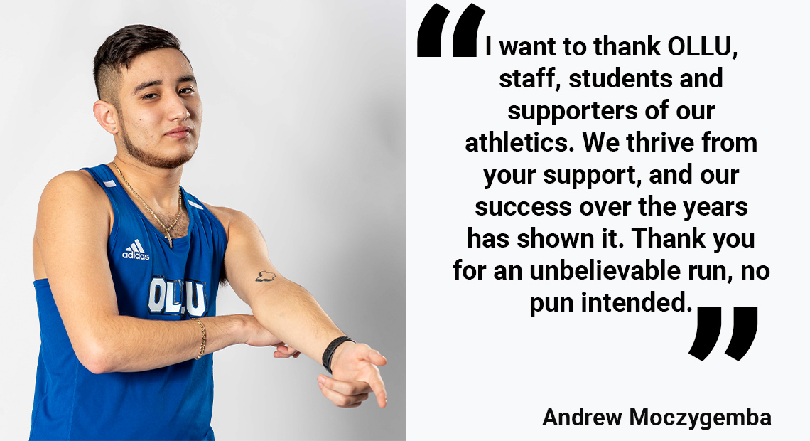 Photo for OLLU Senior Spotlight: Andrew Moczygemba