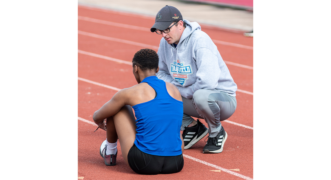 Photo for OLLU bids farewell to track and field / cross-country assistant coach Terry Smith
