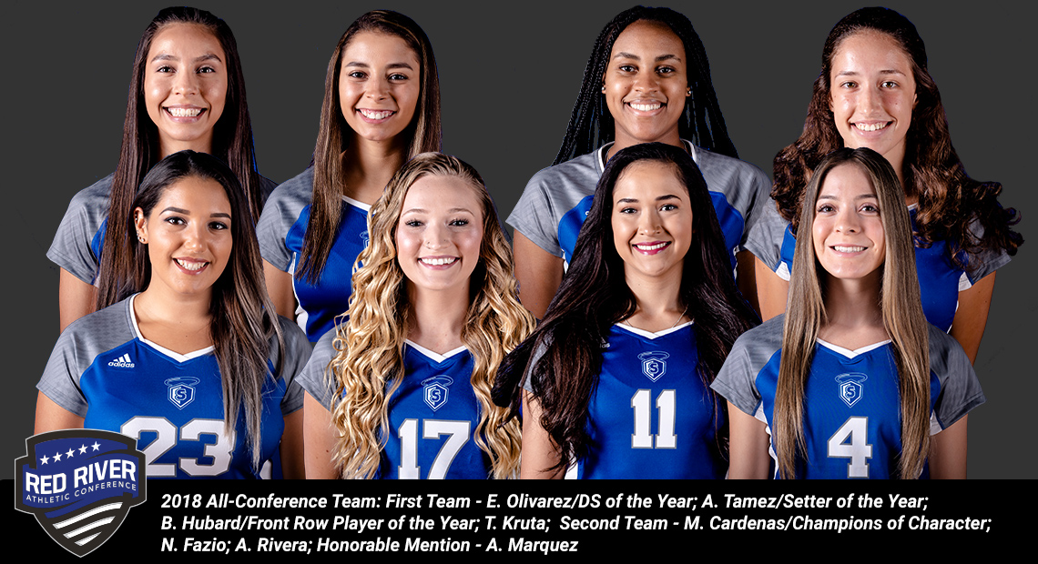 Photo for Eight from OLLU named to the RRAC Volleyball All-Conference Team