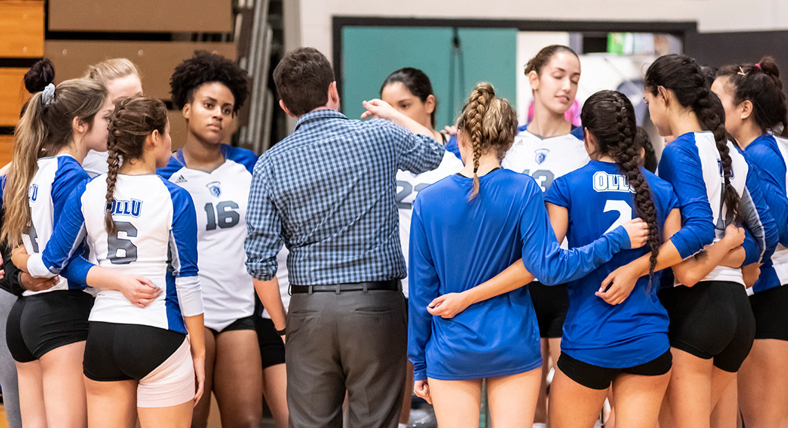 Photo for Saints volleyball sweeps Texas College