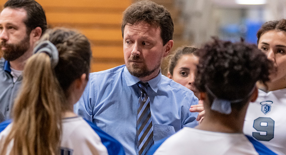 Photo for OLLU bids farewell to Volleyball Coach Jeremiah Tiffin