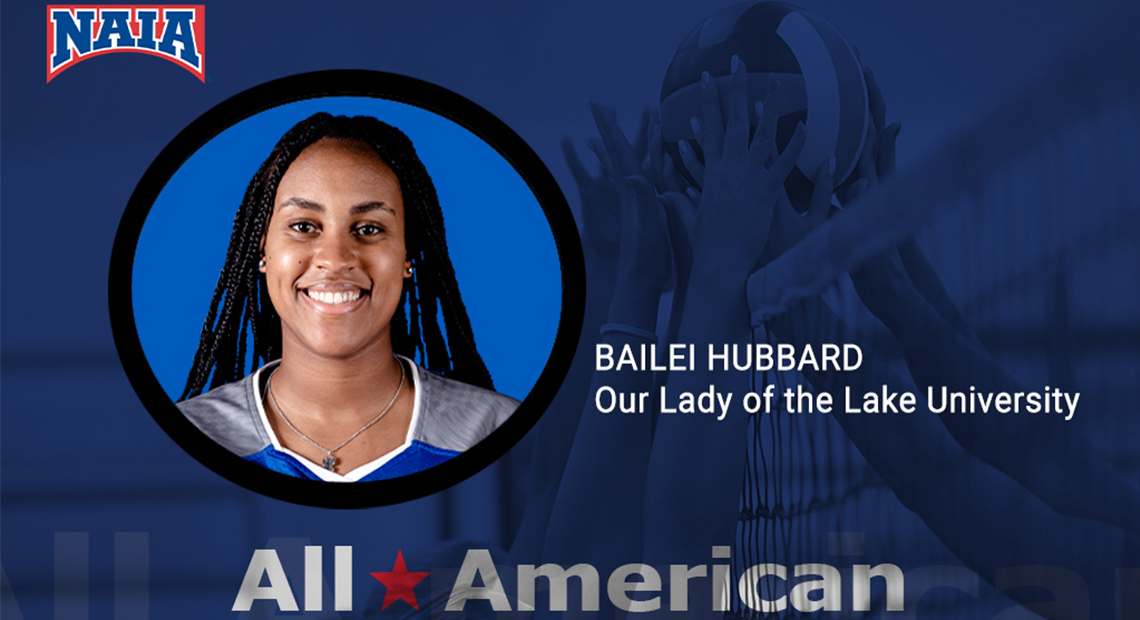 Photo for OLLU's Bailei Hubbard receives NAIA Volleyball All-America honors