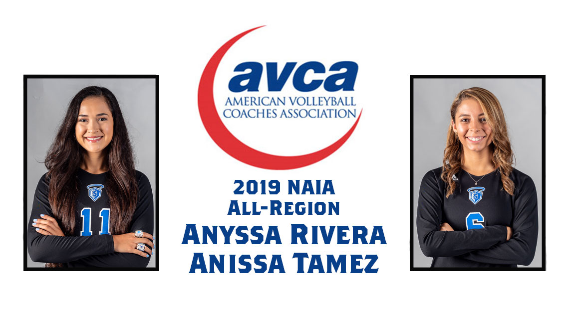 Photo for OLLU's Rivera and Tamez earn AVCA All-Region honors