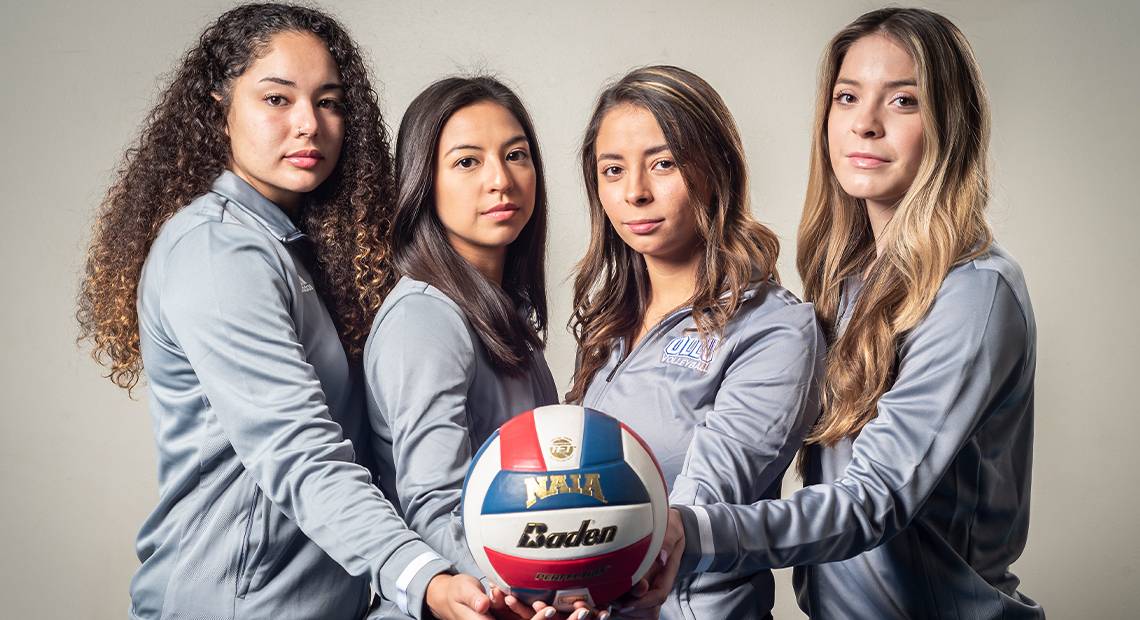 Pictured are seniors Kalani Ketchens, Amanda Esparza, Anyssa Tamez and Alyssa Marquez.