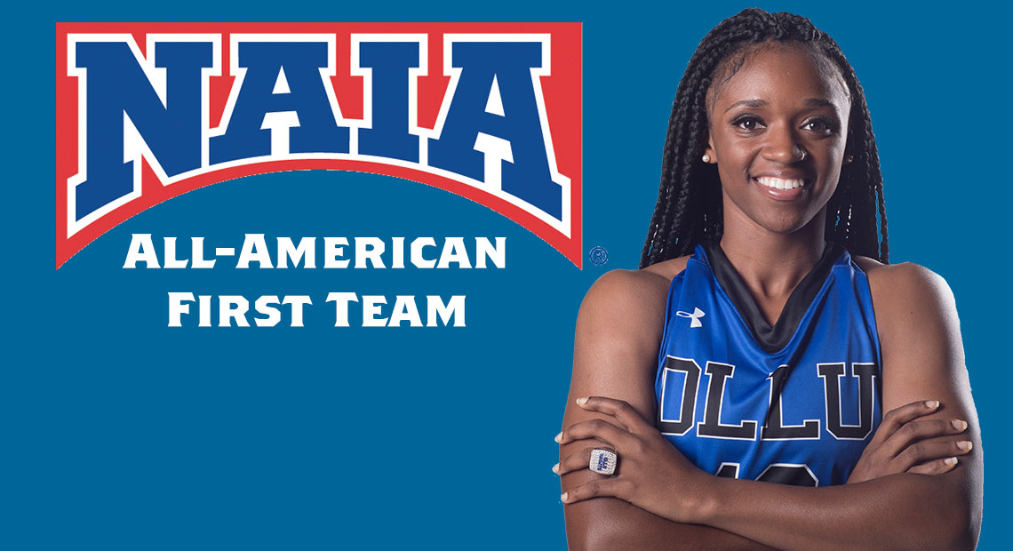 Photo for Quintianna LeShore earns NAIA Division I Women's Basketball All-America First-Team honors