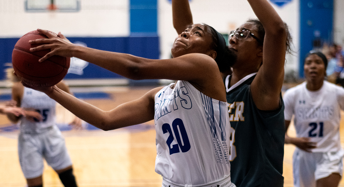 Jamia Miller led the team in scoring with 24 points.
