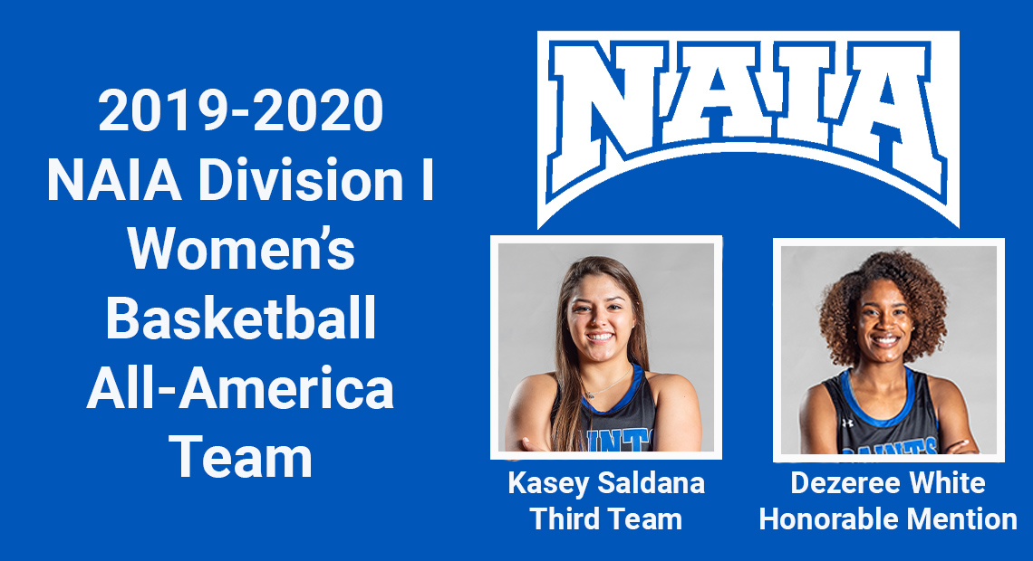 Photo for OLLU's Saldana and White selected to NAIA D1 Women's Basketball All-America Team