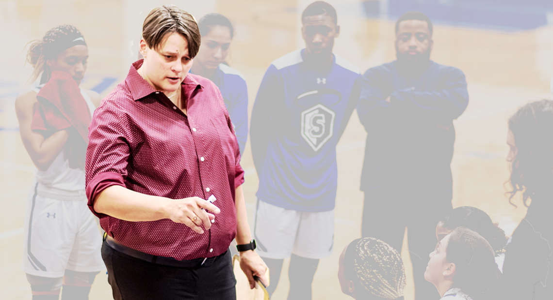 Photo for OLLU elevates Stacy Stephens to head coach for women's basketball