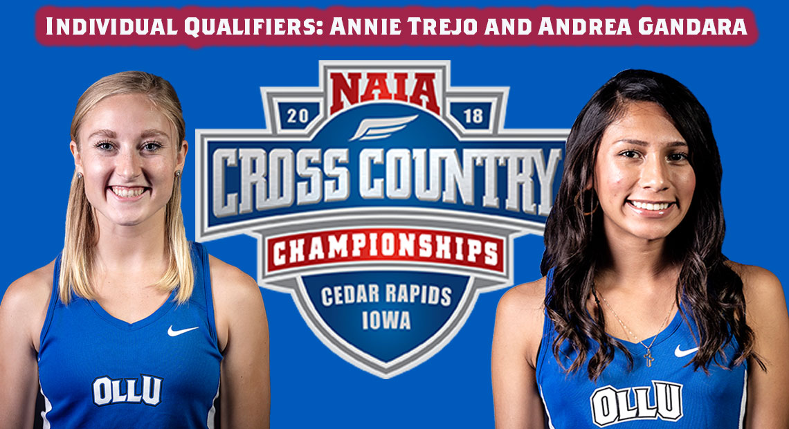 Photo for OLLU's Trejo and Gandara will compete in NAIA National Championship as individual qualifiers