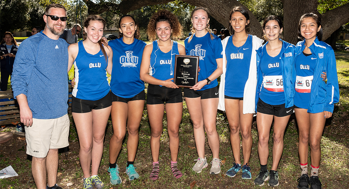 Photo for Saints women finish as runners-up in RRAC Cross-Country Championship
