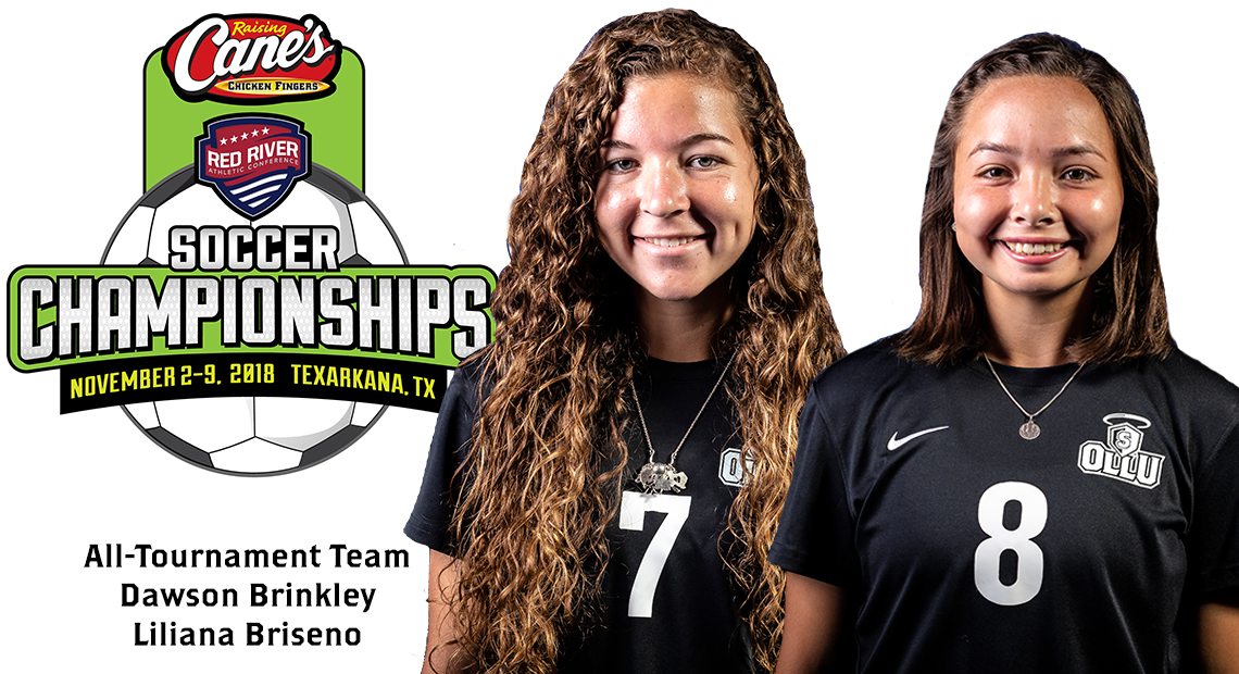 Photo for OLLU soccer's Brinkley and Briseno chosen for RRAC All-Tournament Team