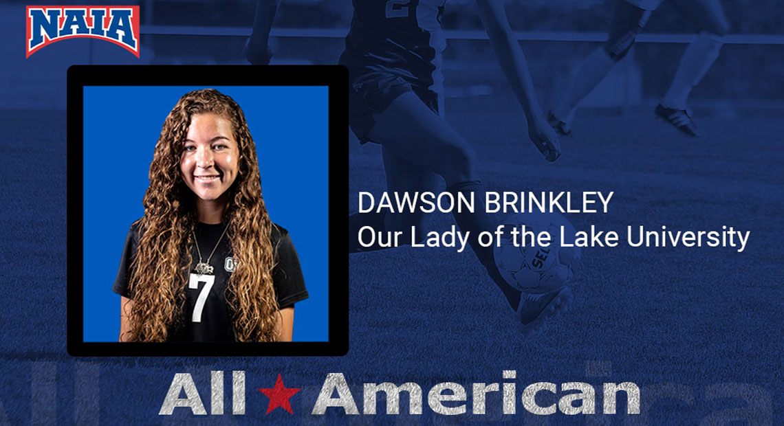 Photo for OLLU's Dawson Brinkley received NAIA Women's Soccer All-America Honors