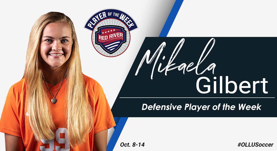Photo for OLLU's Mikaela Gilbert named RRAC Defensive Player of the Week