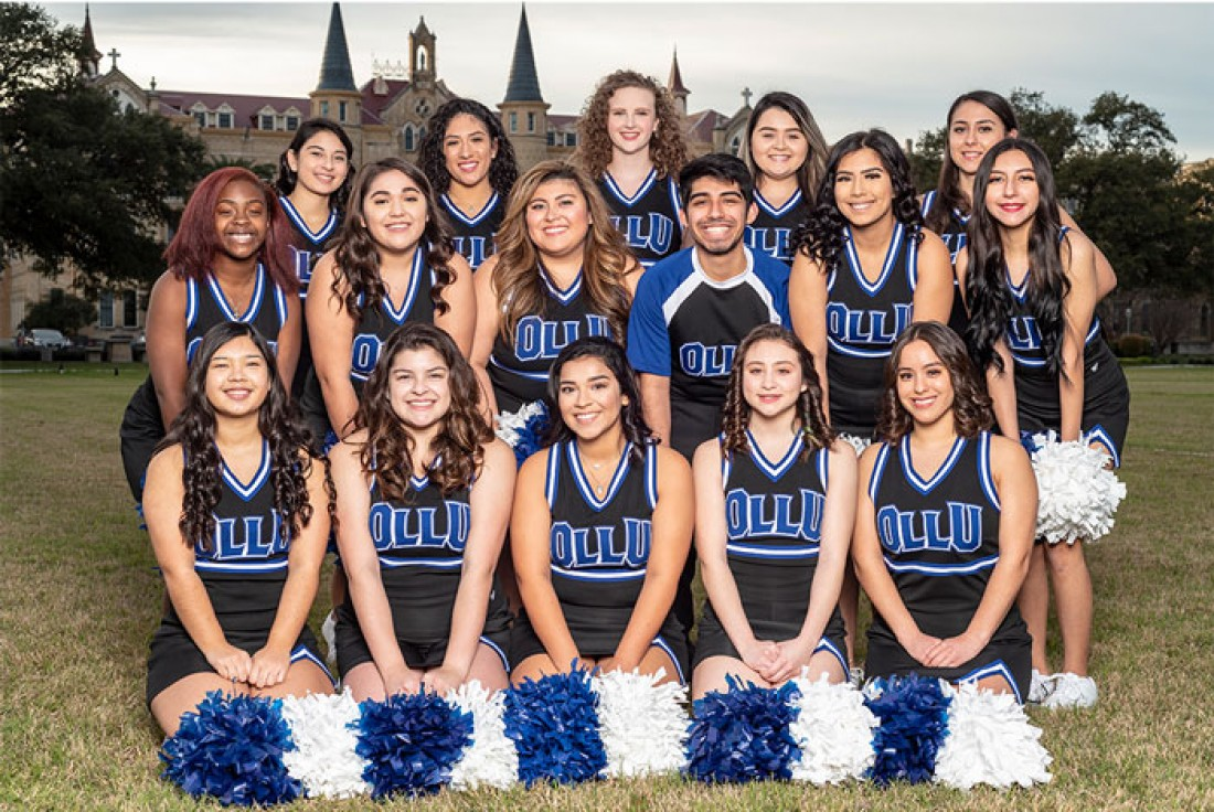 2018-19 Saints Cheer  Team Photo
