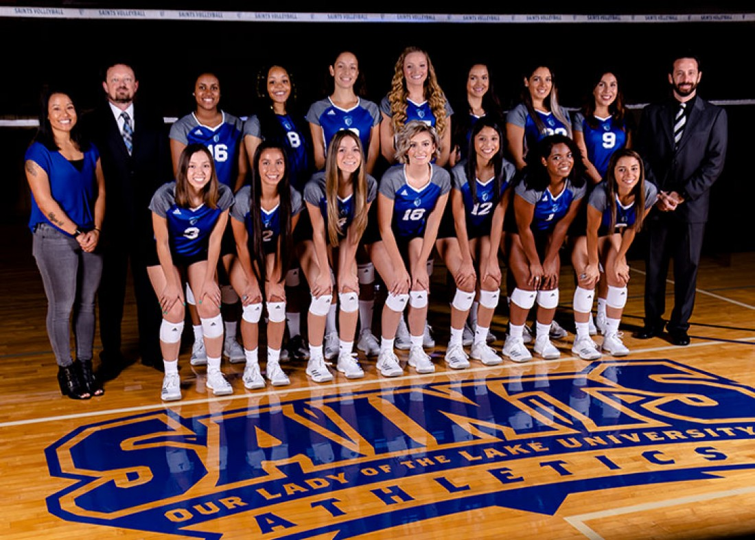 2018 Volleyball Team Photo