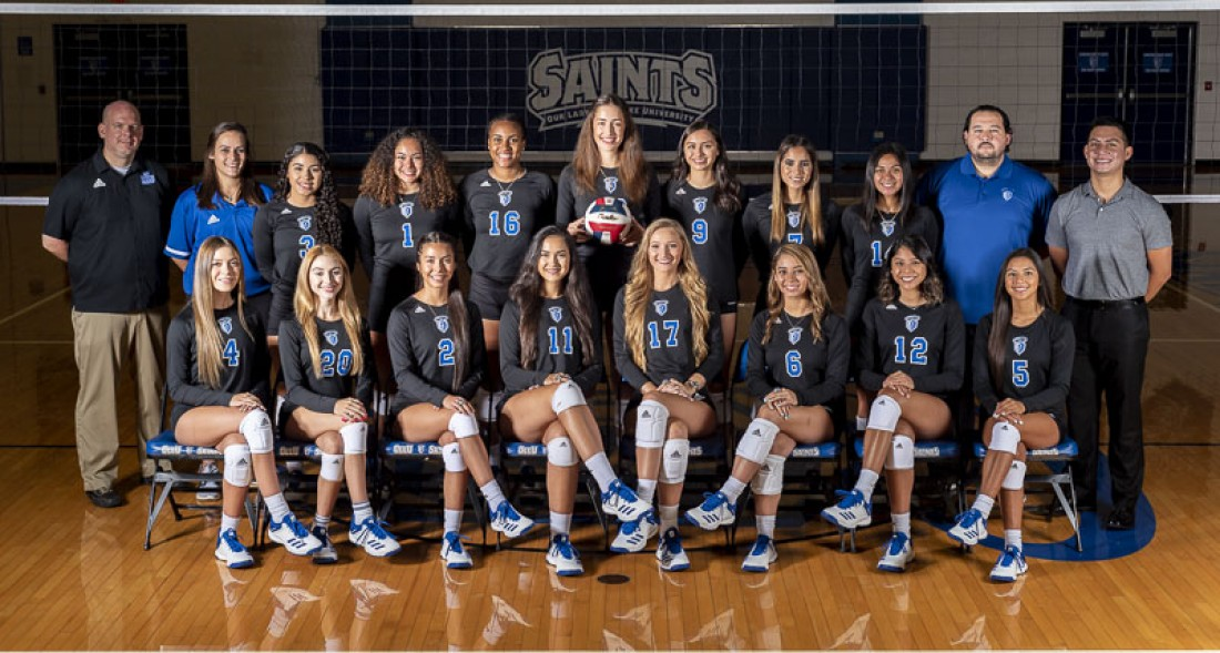 2019 Volleyball Team Photo