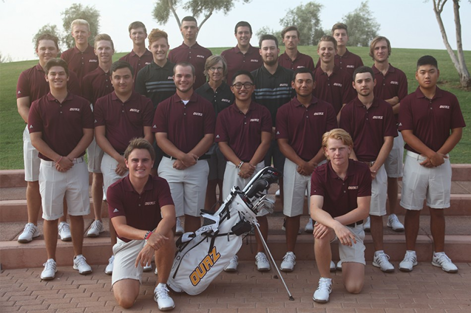 2018 Men's Golf Team Photo