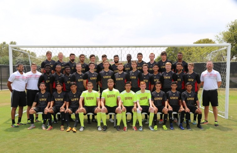 2016-17 Men's Soccer Roster Team Photo