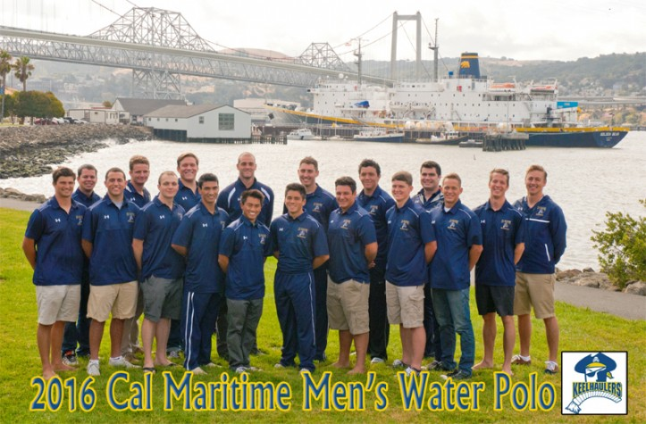 2016-17 Men's Water Polo Team Photo