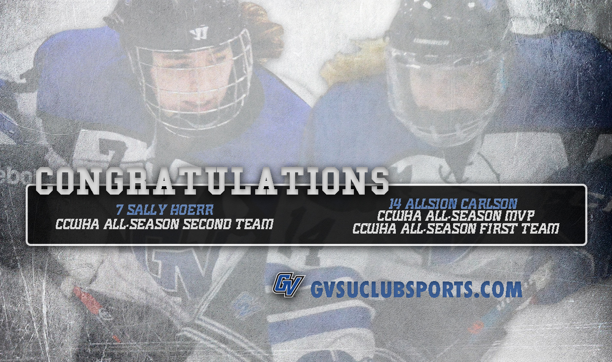 c7df338ab65 Grand Valley State University Club Sports - 2018-19 Women s Ice Hockey
