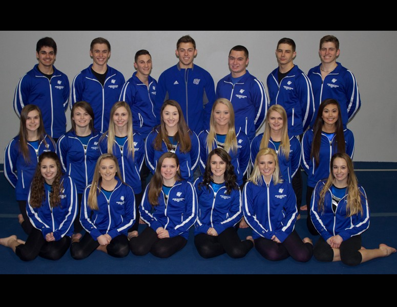 2016-17 Coed Gymnastics Team Photo