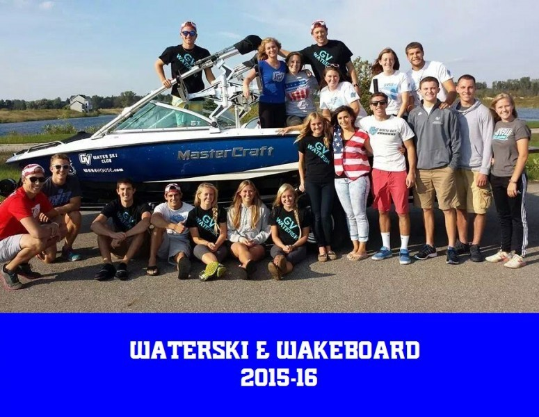 2016-17 Coed Water Ski & Wakeboard Team Photo