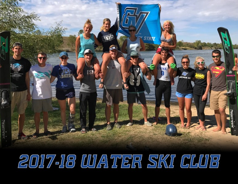 2017-18 Coed Water Ski & Wakeboard Team Photo
