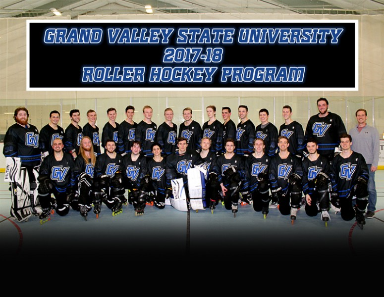 2017-18 Men's Roller Hockey D1 Team Photo