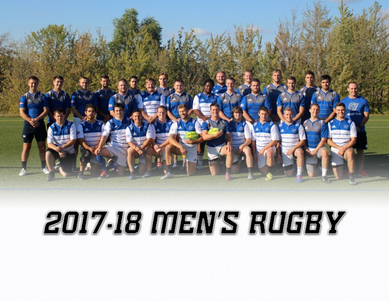 2017-18 Men's Rugby Team Photo