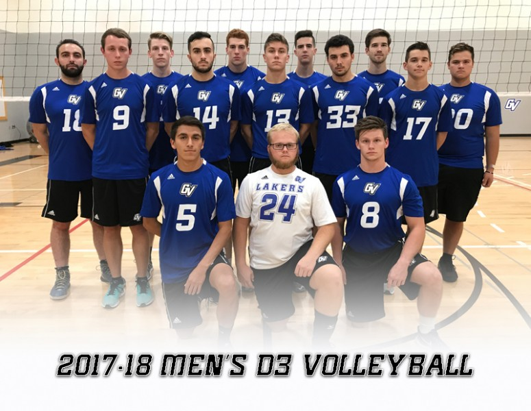 2017-18 Men's Volleyball D3 Team Photo