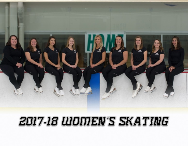 2017-18 Women's Synchronized Skating Team Photo
