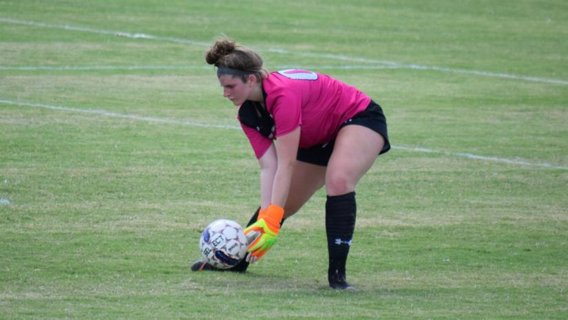Brown logs double-digit saves, but Lady Threshers take loss at York 4-1