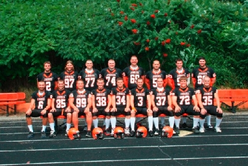 2011 Football Team Photo