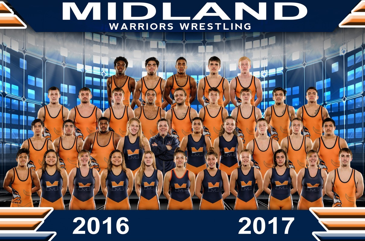 2016-17 Women's Wrestling Team Photo