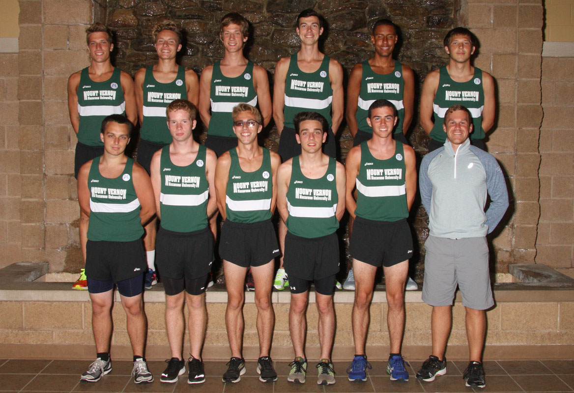 2016 Men's Cross Country Team Photo