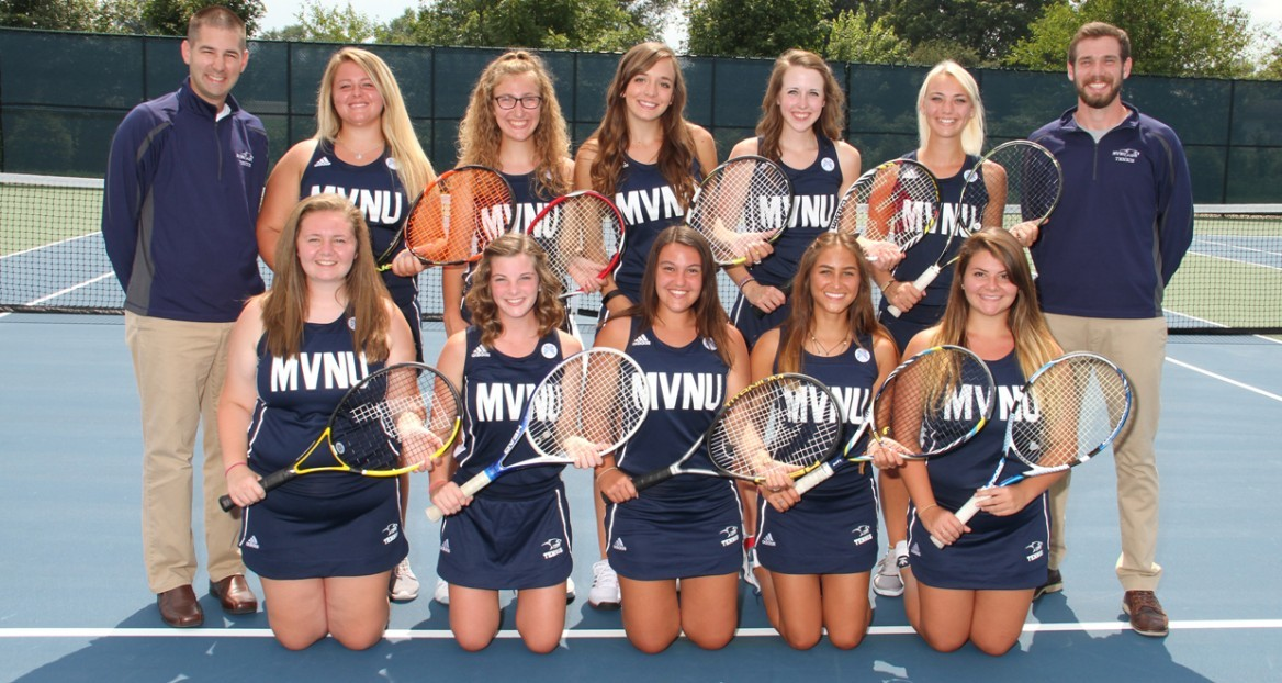 2017-18 Women's Tennis Team Photo