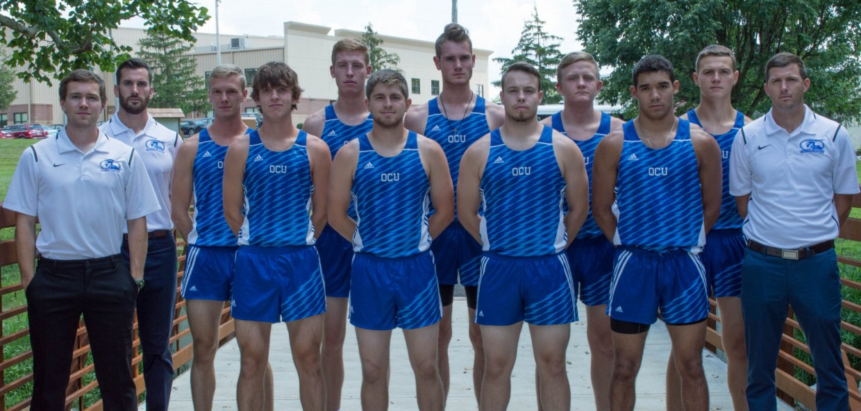 2017 Men's Cross Country Roster Team Photo