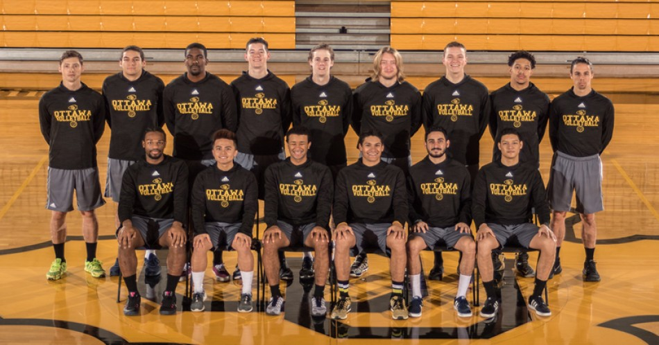 2016-17 Men's Volleyball Team Photo