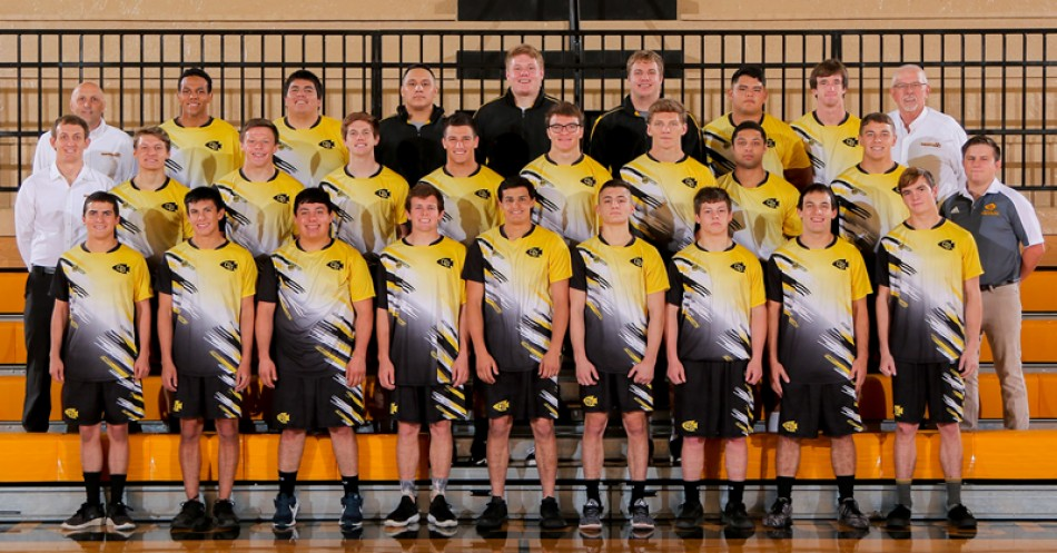 2017-18 Men's Wrestling Team Photo