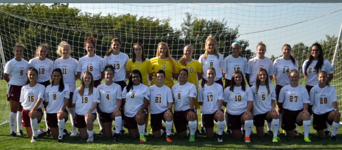 2017 Women's Soccer Roster Team Photo