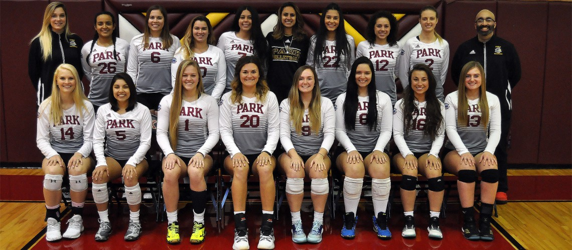 2017 Women's Volleyball Roster Team Photo