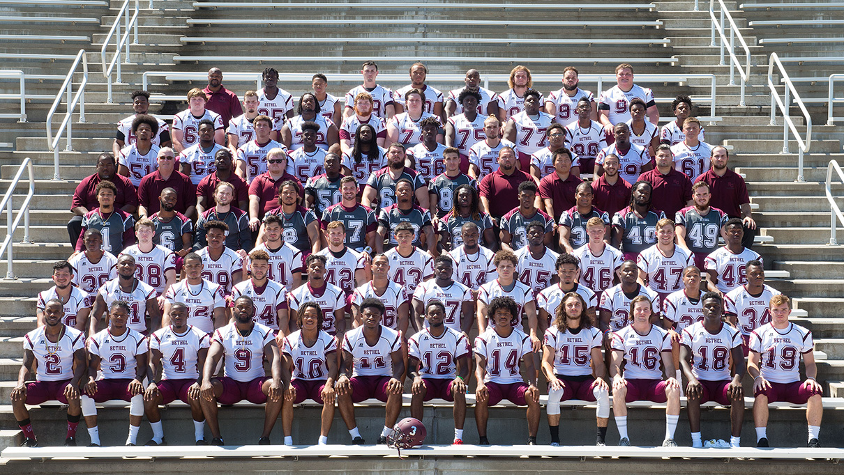 2017 Football Roster Bethel College Athletics