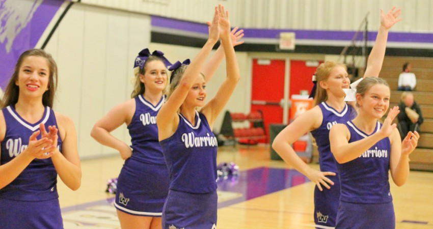 10 Warrior Cheer Squad Tops Grand View In Dual To Open Competition Season