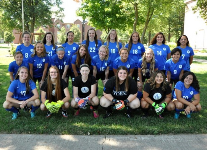 2016 Women's Soccer Team Photo