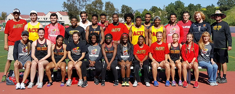 2017 Men's Track & Field Team Photo