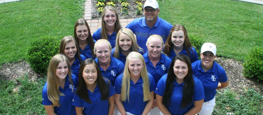2017 Women's Golf Team Photo