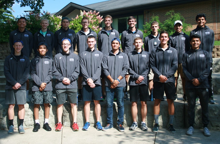 2017 Men's Cross Country Team Photo