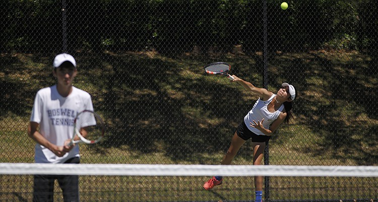 Photo for Boswell Experiences Success At The District Tennis Tournament