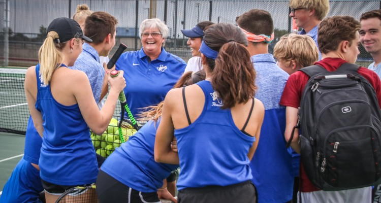 Photo for Boswell Tennis Claims Victory Over Brewer