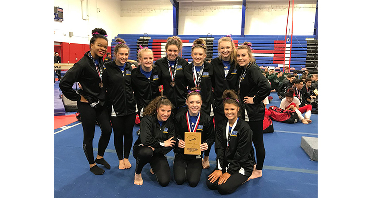 Photo for The Boswell Girl's Gymnastics Team Took 2nd In Abilene